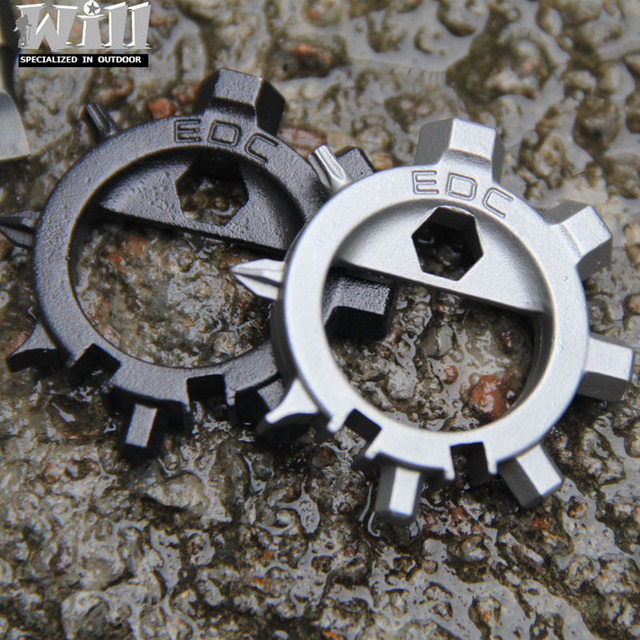 Multi tool stainless steel  EDC tool 12 functions