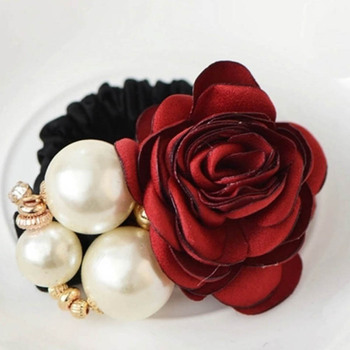 Flower Pearl Jewelry Headband