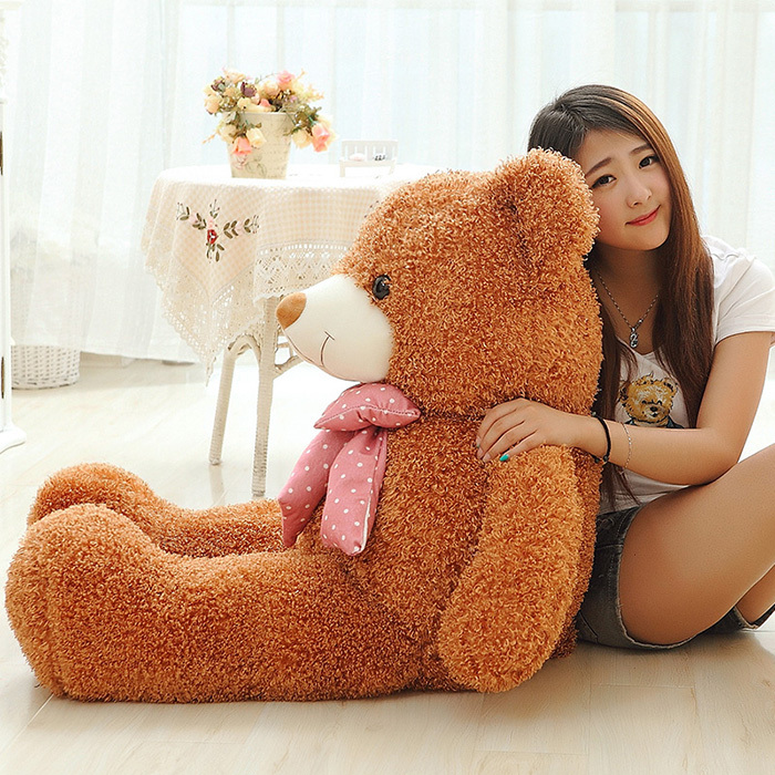 80CM Six Colors Big Teddy Bear Plush Soft Toys Giant Stuffed Toy Baby Toy Birthday Gifts Christmas Children Girl Kid Baby Gifts(China (Mainland))