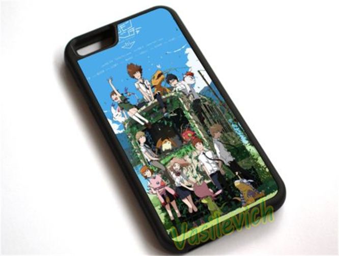 Digimon Adventure Tri fashion phone Case cover for samsung galaxy S3 S4 S5 S6 S6 edge S7 S7 edge Note 3 Note 4 Note 5 &hh94(China (Mainland))