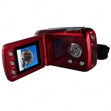 New Mini Series Digital Video Camera 4 x Digital Zoom Hand Grip With SD/MMC Card Slot(SD/MMC Card LS*DA0473(China (Mainland))