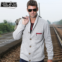 2016 new arrive Autumn and winter thick casual jacket suit needle brushed knitted outerwear slim casual coat
