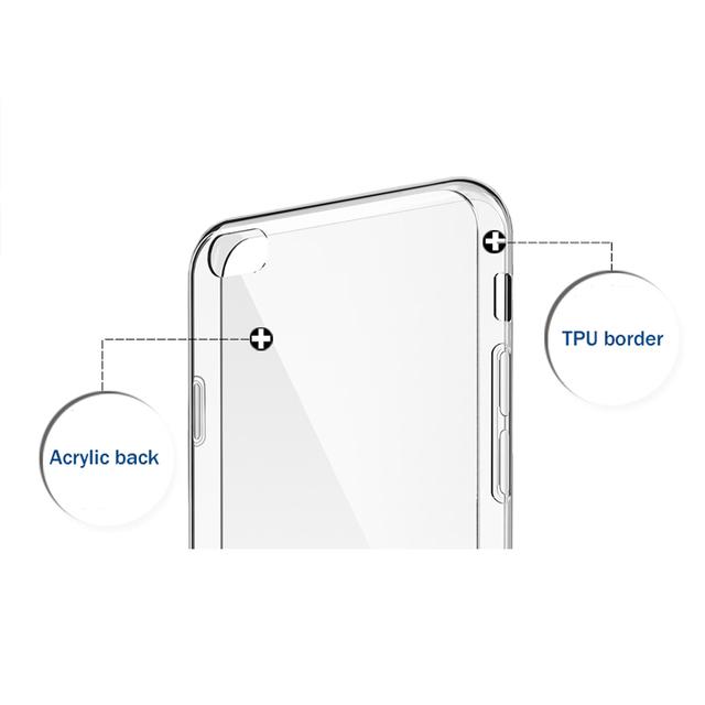 Case iPhone 6 / 6s / 6 plus / 6s plus transparentne silikonowe