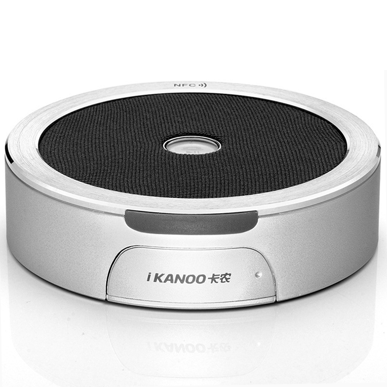 Ultra Slim Portable NFC Smart Pairing Handsfree Wireless Stereo Bluetooth Speaker With Microphone, Built-in TF Card Slot(China (Mainland))