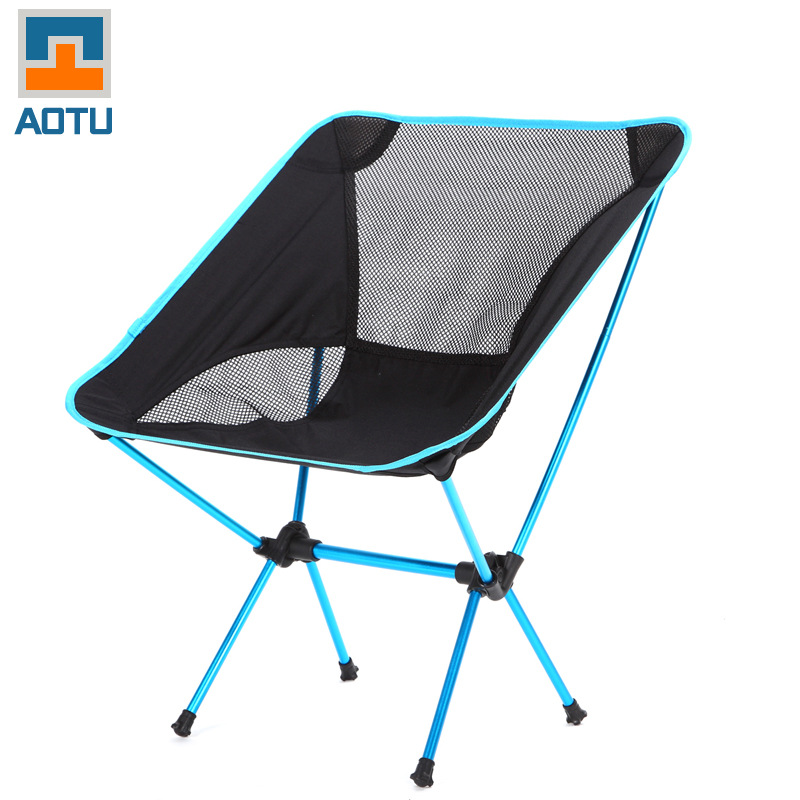 Bump folding beach chair high strength aluminum alloy ultra lightweight porta