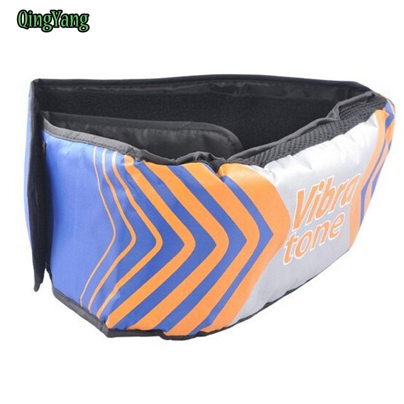 Body Wrap Care Beauty Bulding Weight Loss Slimming Back Massager Vibro Shape Sauna Fat Burning Vibra Tone Massage Belts&QY-004(China (Mainland))