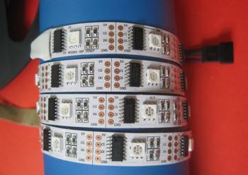 DHL free shipping! factory directly wholesale! 20M/lot led pixel strip lights 2801 IC +dc5v 32led/m individually addressable