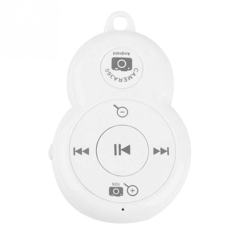 Wireless Combo Bluetooth V3.0  Music Remote Control Integrated Self-timer Shutter for iphone Android<br><br>Aliexpress