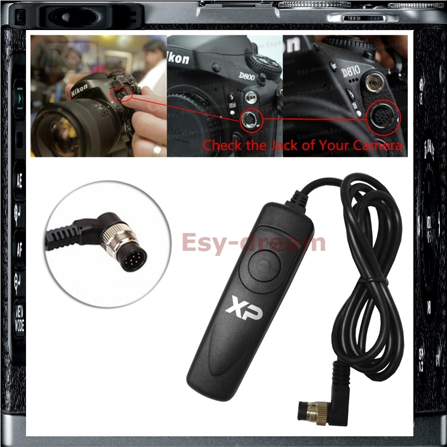 Shutter Release Cable Remote Control For Nikon MC-30A D810 D800 D800E D810 D700 D300S D200 D3X D3 D4 D4S PF283(China (Mainland))