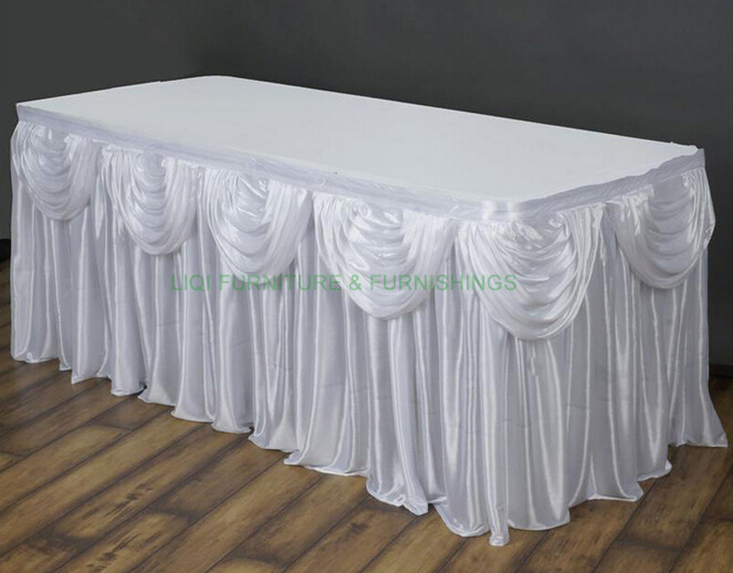 buy table skirt table cloth wedding props
