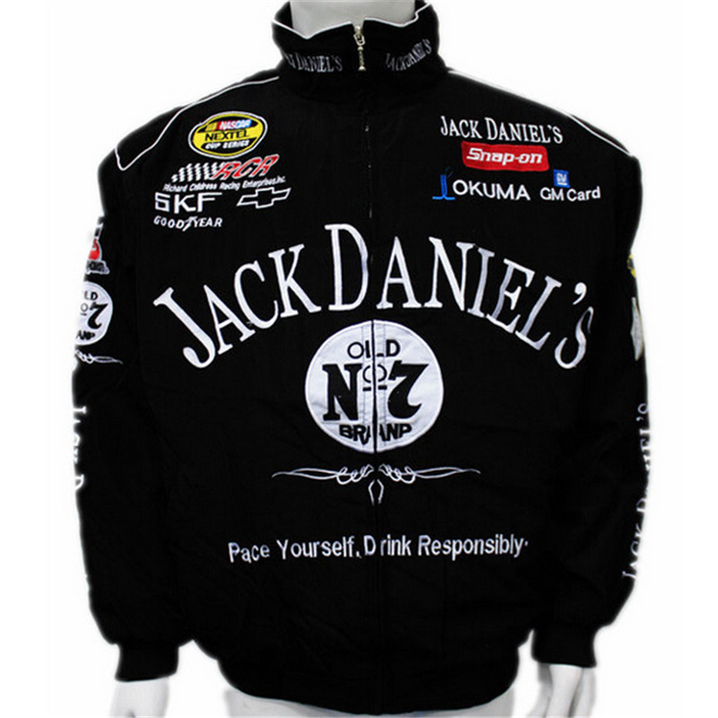 New F1 Racing Suit Jack Daniel Jackets Fall And Winter Clothes Mens Long-sleeved Jacket(China (Mainland))