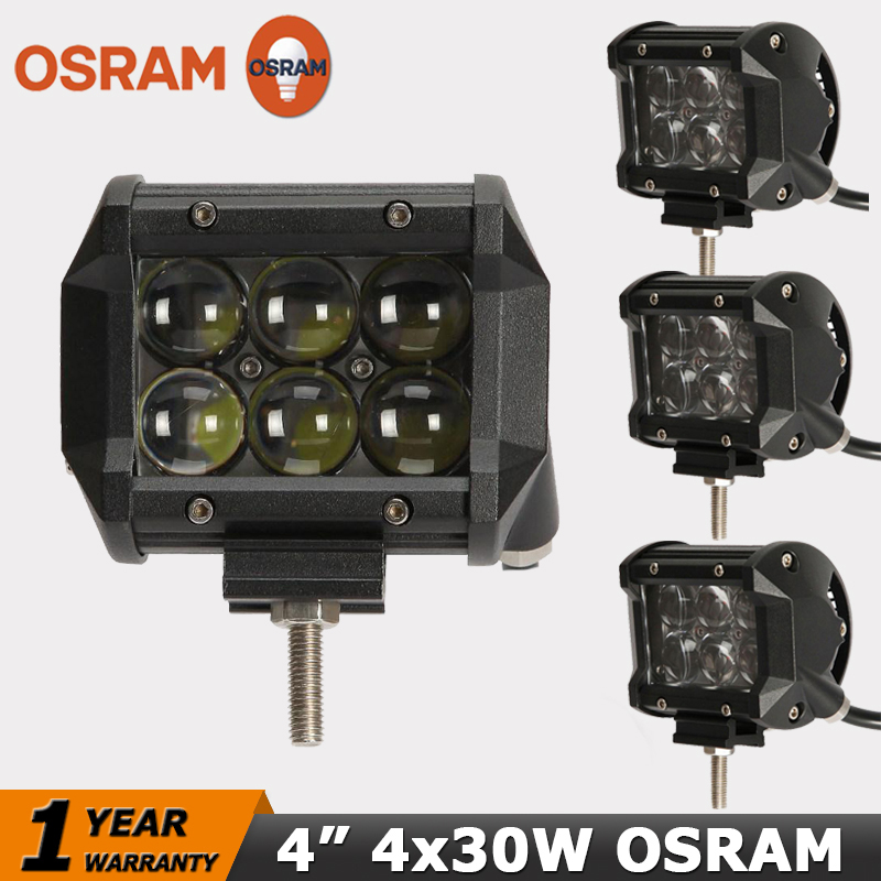 4x osram led work light bar gd traders wholesale deal. Black Bedroom Furniture Sets. Home Design Ideas