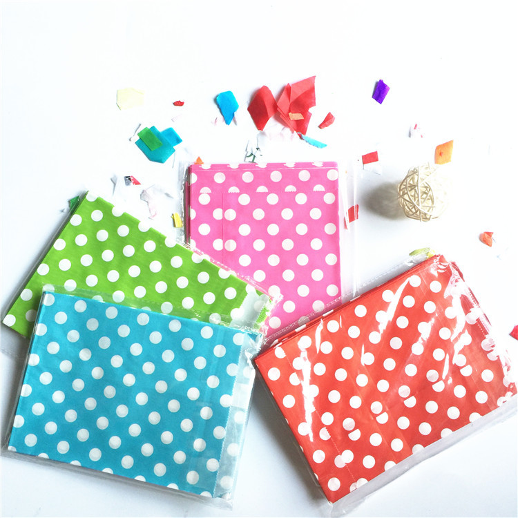 Hot_sell hot pink white polka dots Treat Bags Candy gift Paper Bags, Party Favor Bag,cupcake bags for wedding 25pcs(China (Mainland))