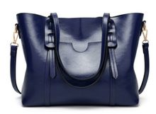 Mulheres Saco de Luxo Bolsas de Couro das Mulheres de Cera de Óleo Sacos de Mão Da Senhora Com Bolsa Bolso Bolsos Das Mulheres Grande Sacola mujer Designer C834(China)