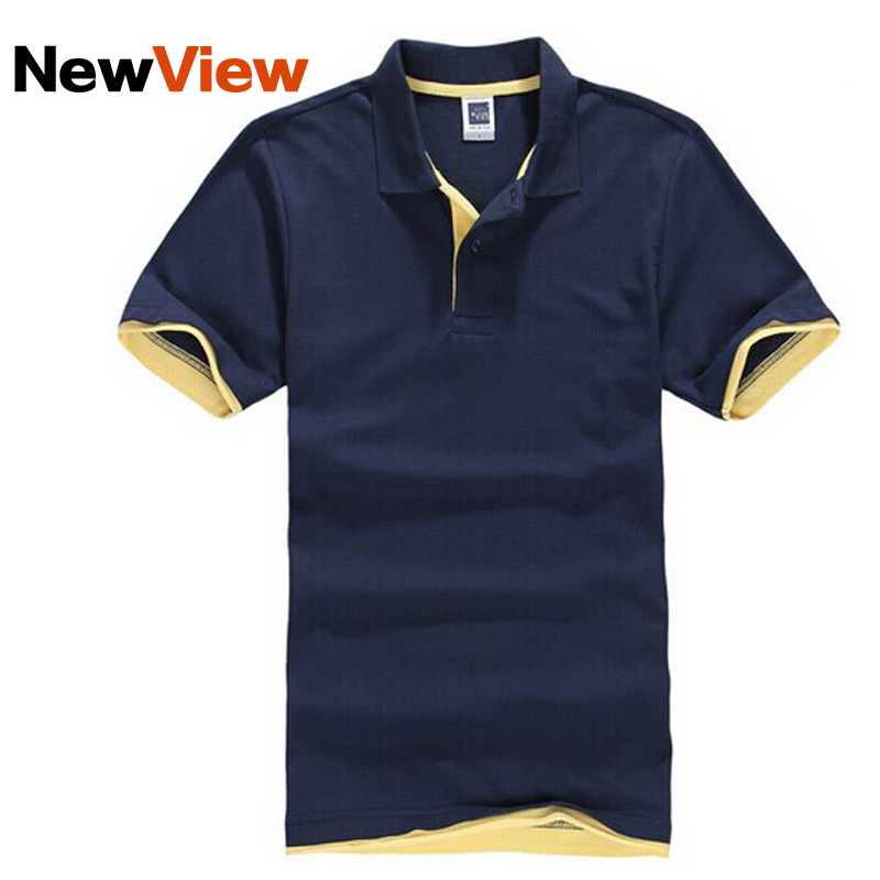 HOT !!! Brand Men's Clothing Tops Tees Polo Shirts Men's Polo Shirt Men Cotton Short Sleeve Jerseys Golf Tennis Sports Shirt(China (Mainland))