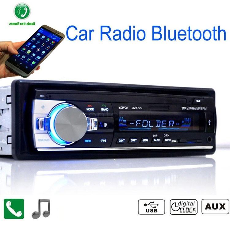 Digital Bluetooth Hands Free 12 V Car Stereo Audio Music Mp3 Player / Fm Radio / Usb /Sd 24(China (Mainland))
