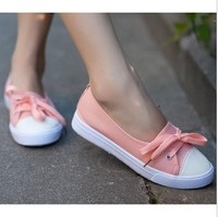 2015 new Summer low shallow mouth women canvas shoes fresh breathable casual shoes lazy flats single shoes women sneakers blue