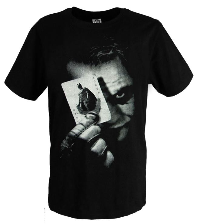 Гаджет  Batman The Dark Night Joker Print T Shirts Plus Size  None Одежда и аксессуары