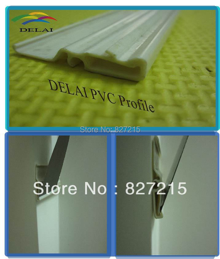 Big PVC Profile for PVC Stretch Ceiling Film(China (Mainland))