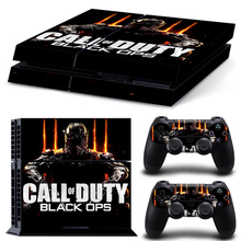 New Arrival Free Shipping Video Games call of duty Skin for PS4 for Playstation 4 stickers black ops 3 vinyl decal protective