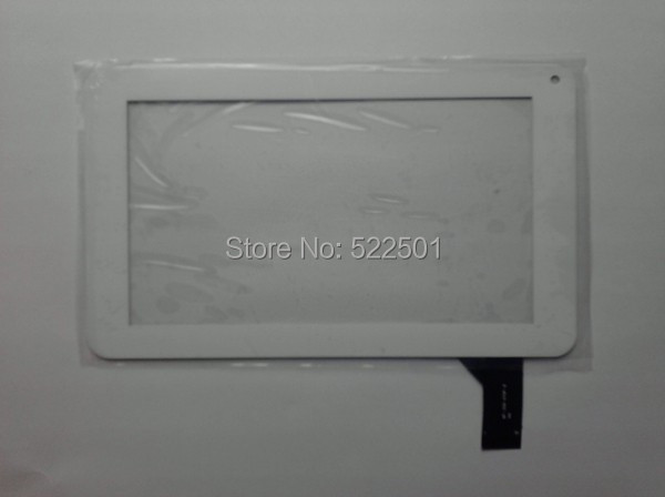 7 inch white capacitive Touch Screen Panel Digitizer Glass lens 86V 186 111 mm Tablet PC MF-309-070F-2 - laptop parts and consumer electronic store