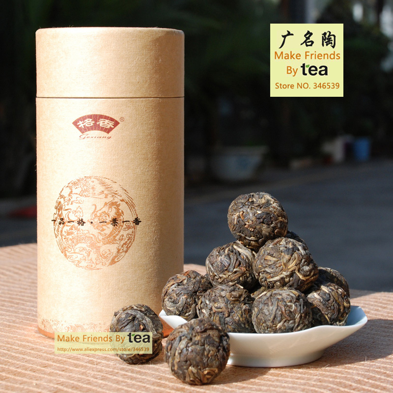 GMTao PuEr Tea Series Yi Wu Puer Little Tuocha Tea Can Box 180g Little Pearl Health Scraper Raw Tea Loose Tuo Tea<br><br>Aliexpress