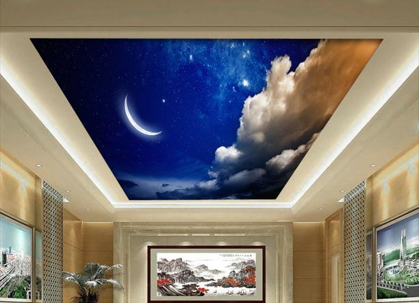 Buy large wallpaper custom dream star zenith moon mural for Custom mural cost