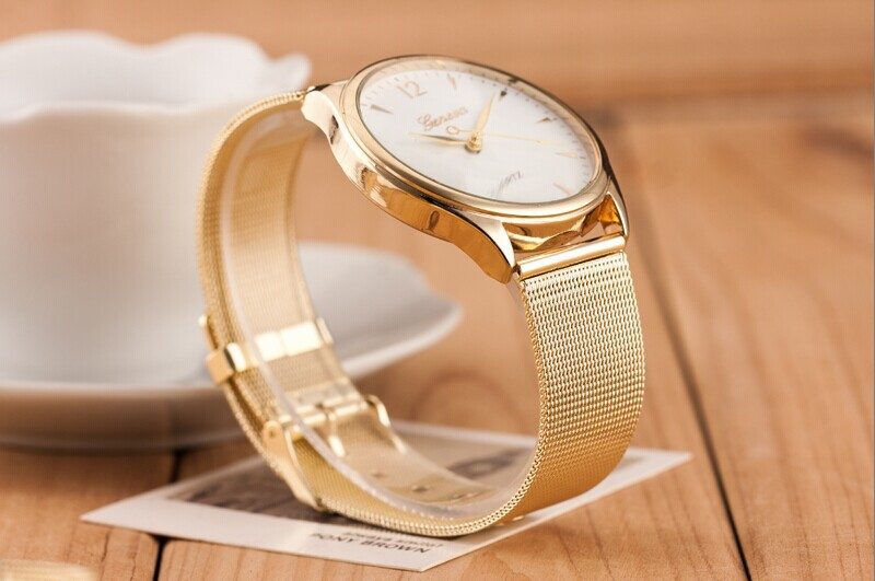 W18 2014 New Fashion Top Quality Famous Brand Design Luxury Watches Men Stainless Steel Strap Geneva