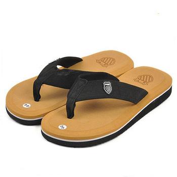 2016 Summer Flip Flops Men Casual Patch EVA Flats Shoes Man Men And Women Beach Sandals Slippers Summer Slides For Male Sandals