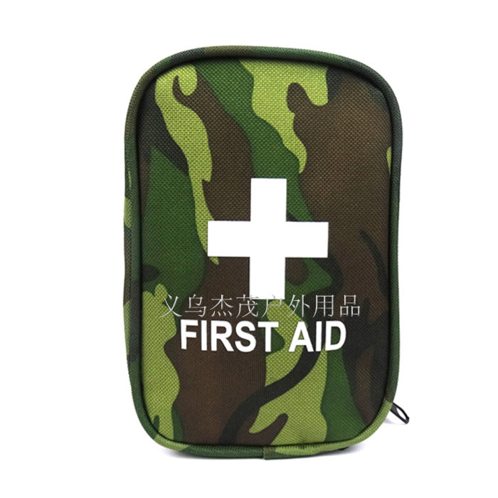 New Camouflage first aid kit Travel Camping first aid kit mini emergency survival first aid kits bag small car first aid kit(China (Mainland))
