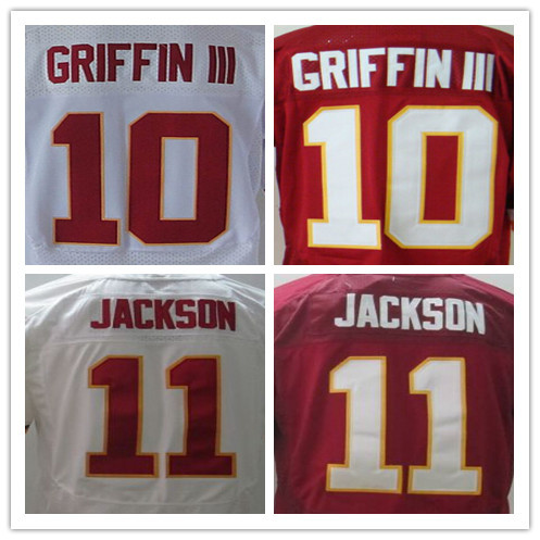 Cheap American football jersey,Men's 10 Robert Griffin III jersey,Elite 11 DeSean Jackson embroidery jersey,Good quality(China (Mainland))