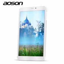 Aoson M86TG Built-in 3G phone call Tablet PC Android 5.1 Lollipop 8 inch silver IPS Capacitive Touch Screen 1GB+8GB wifi GPS