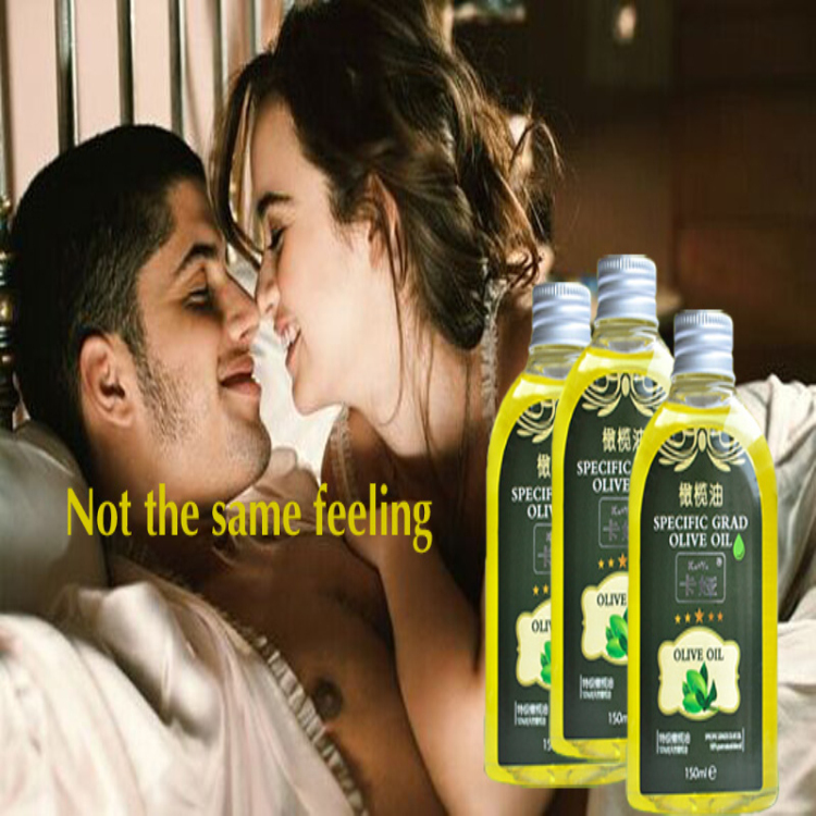 Is olive oil good for sex