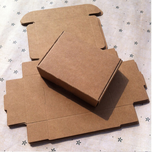 150Pcs/ Lot DHL Paper Cardboard Boxes 9*6.5*3cm Vintage Kraft Paper Packing Boxes Package Wedding+Birthday, Christmas Presents(China (Mainland))