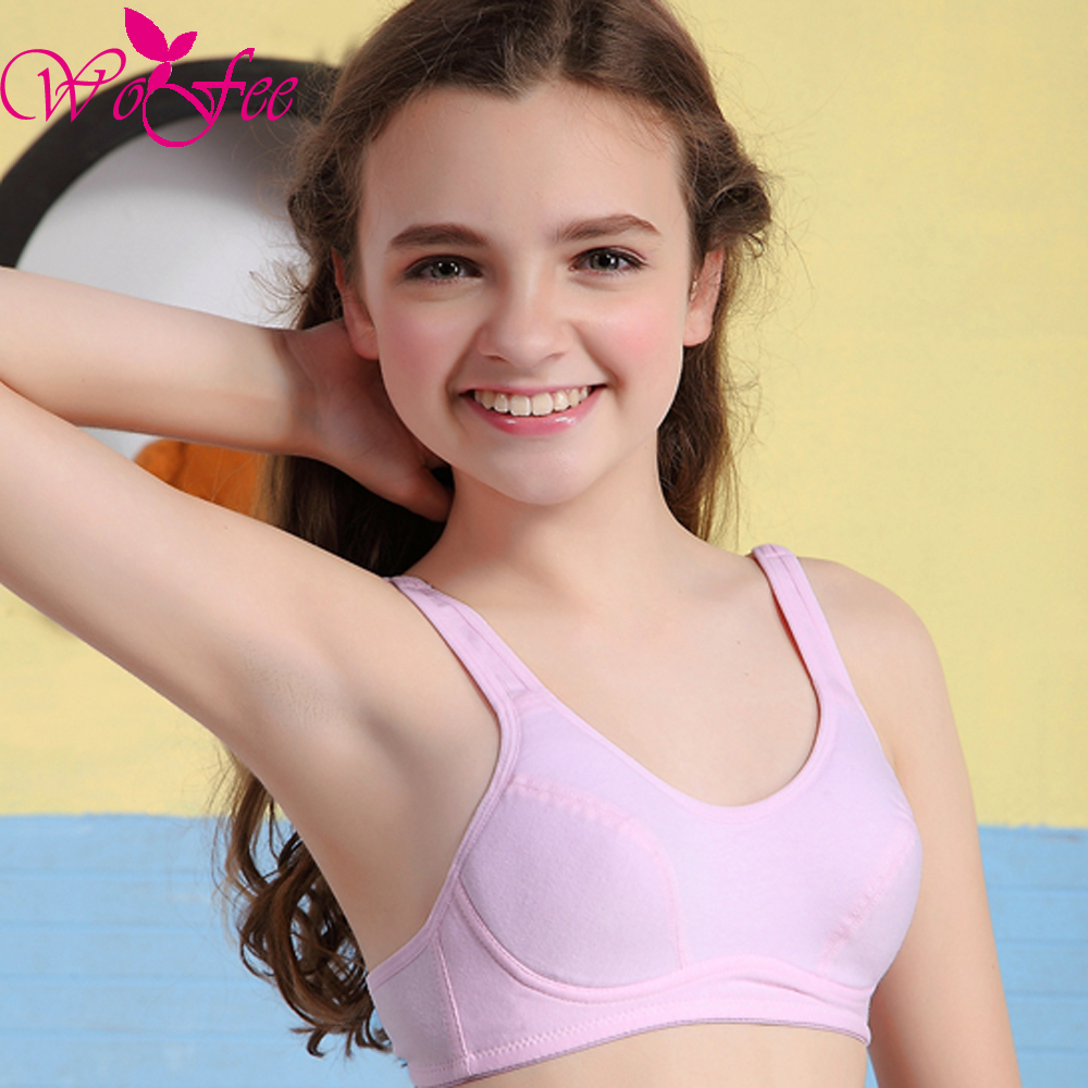 Vest Picture More Detailed Picture About Wofee Puberty Growing Young Girls Soft Touch Cotton