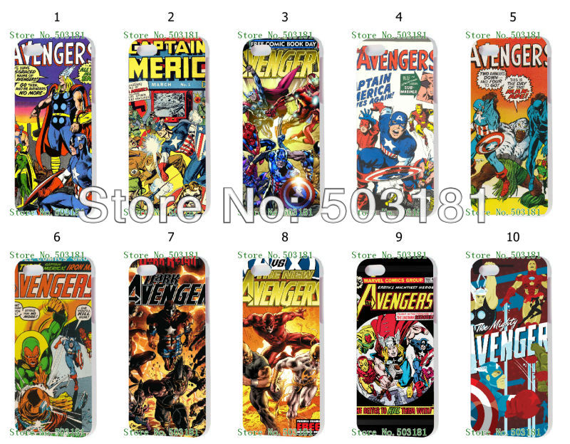 Comic Book Iphone Cases Comic Book Hard Case Back