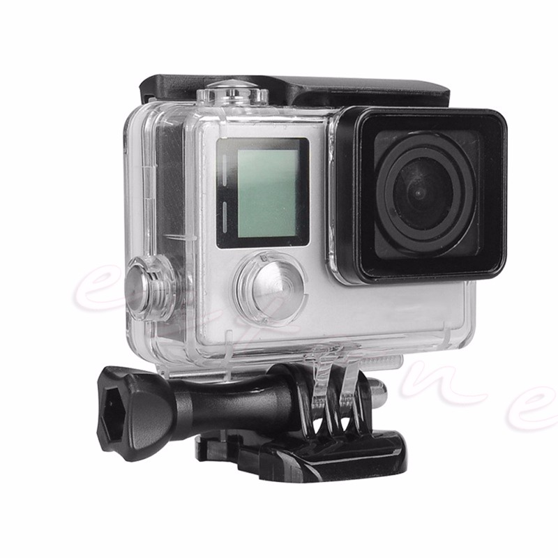 1Pc Waterproof Cover Diving Protective Housing Underwater Case For GoPro Hero 3 4