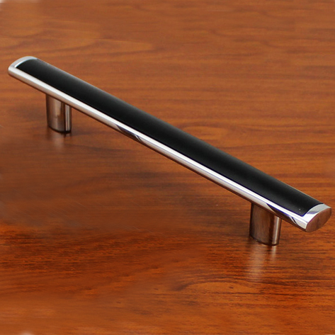 Modern New Fashion Black Furniture handle High grade Closet and Cabinet Door Knob Zinc alloy drawer pull(China (Mainland))