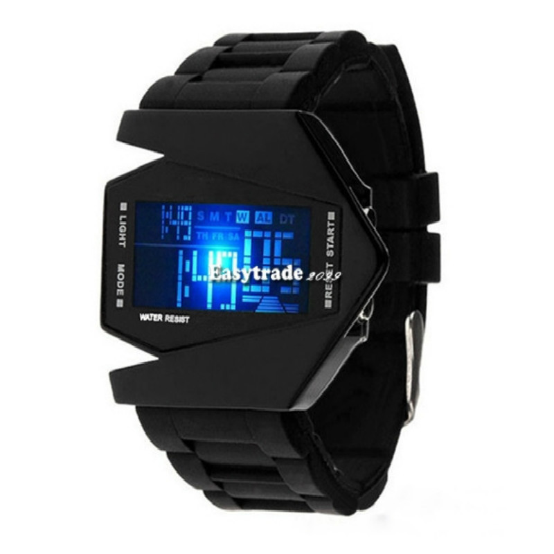 Hot!New Fashion Silicone LED Digital Men's Sports Watch Relojes Waterproof Electronics Army Military Watches Montre Homme  -  Qin billion trading company store