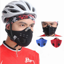 Activated Carbon Dust Face Mask Outdoor Sports for Men and Women Bicycle/Motorcycle Face Protection Winter Mouth Mask(China (Mainland))