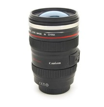 Free Shipping 6th Stainless Steel Coffee Camera Lens Mug Cup M104 MUG 11