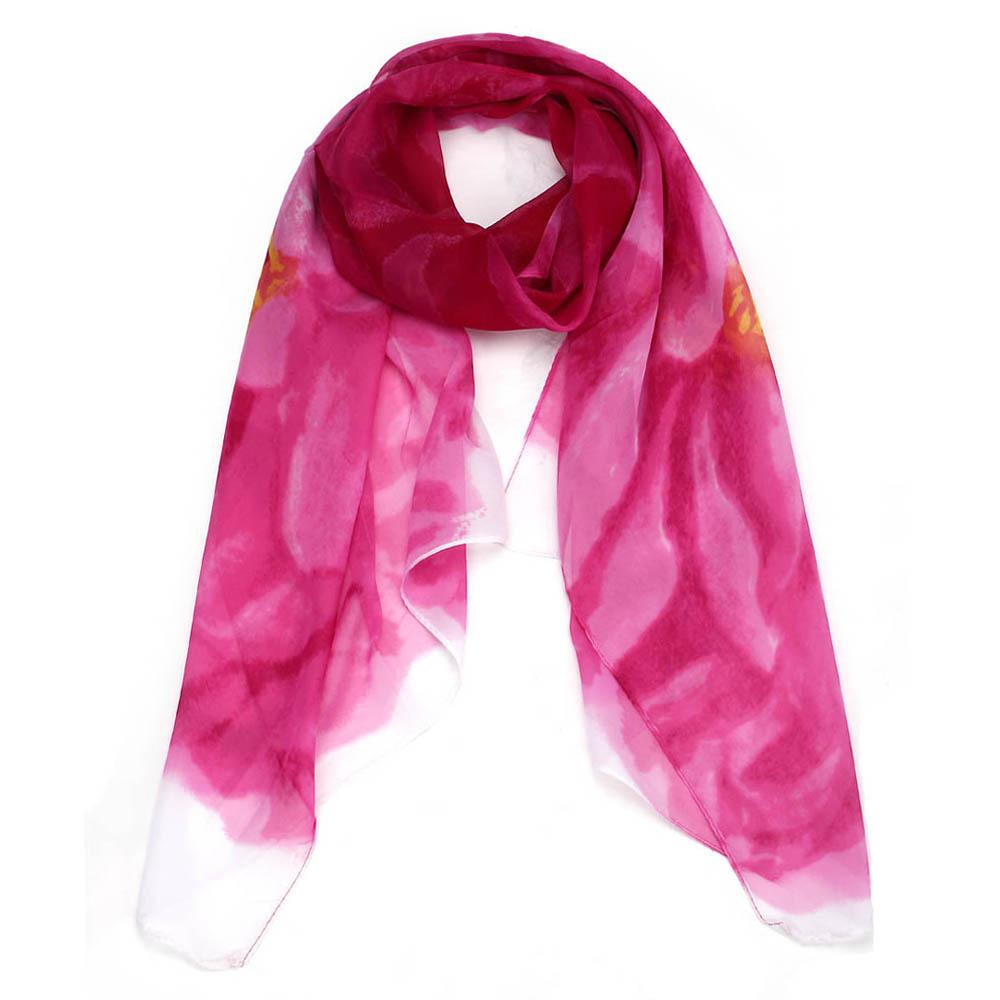 5 colors 2016 chiffon scarf fashion