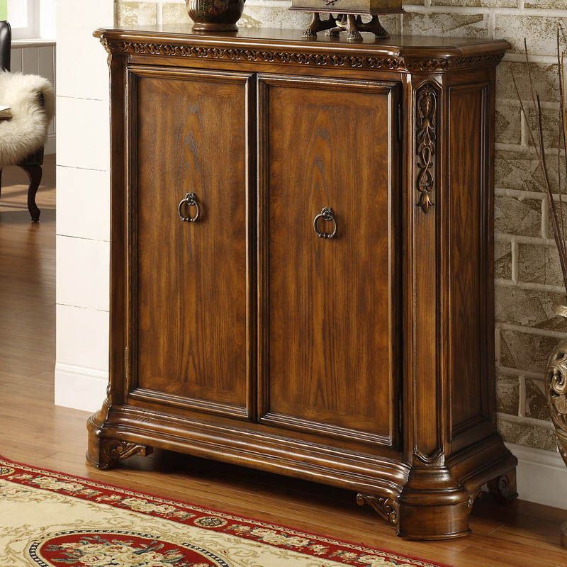 American Style Furniture American Style Furniture Solid Wood Shoe Door Shoe Storage Cabinet