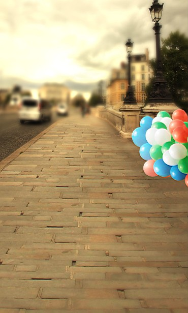 New arrival Background fundo Balloon road car 600CM*300CM width backgrounds LK 2355<br><br>Aliexpress