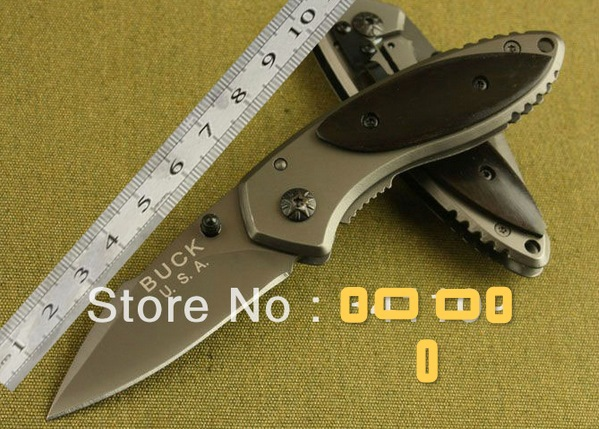 Free shipping BUCK Knives X11 tactical folding blade knife outdoor hunting camping combat pocket knife(China (Mainland))