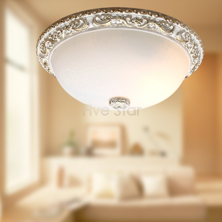 Romantic Resin + Glass Ceiling Pendant Lamp Circles Chandelier Flush Mount Lighting With Bulbs 25(China (Mainland))