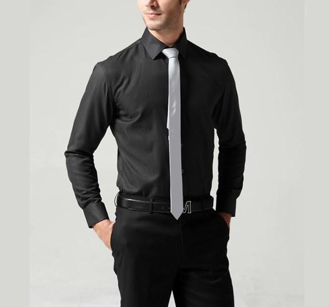 Wholesale Ties for Men free Shipping 2015 New 5cm Narrow Tie Korean Slim Men Casual Party