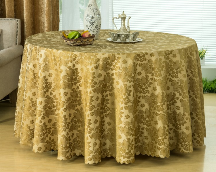 embroidered organza tablecloths handmade polyester tablecloths damask round tablecloth waterproof tablecloth(China (Mainland))