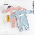 Baby Romper Clothes Fashion 100 Cotton Jumpsuits 2017 Spring Angel Newborn Baby Boy Girl Long Sleeve