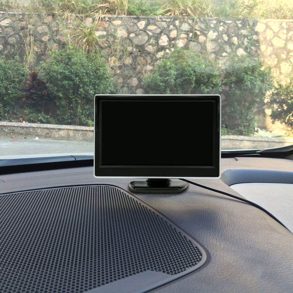5 Inch TFT LCD Display Monitor Car Rear View Backup Reverse System + HD Parking Camera(China (Mainland))